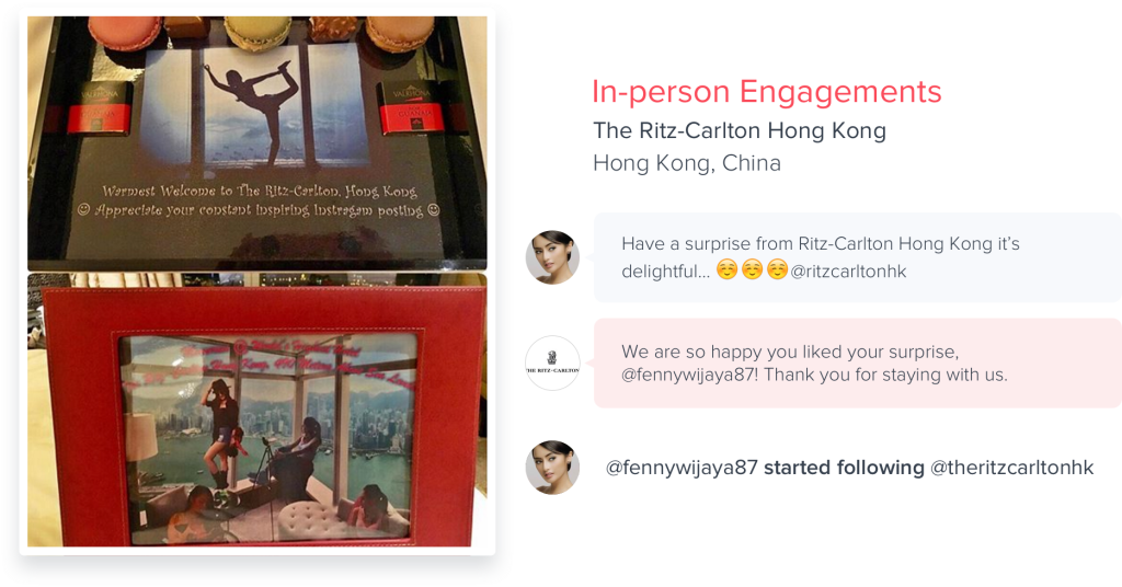 Hyper In-person Engagement Example