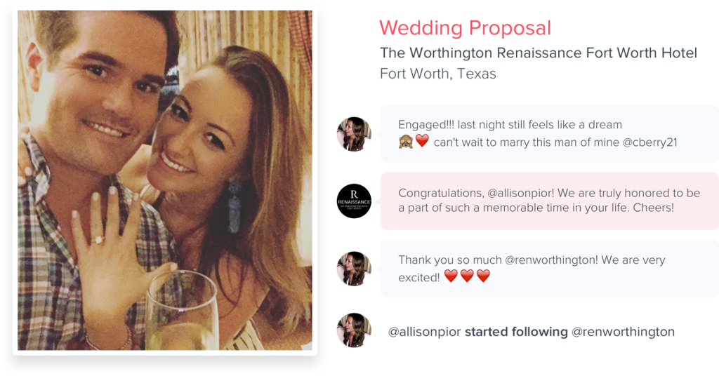 Hyper Wedding Proposal Example