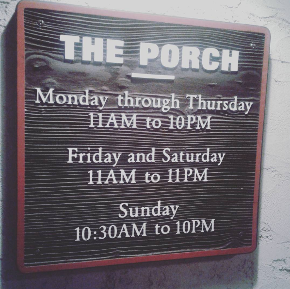 The Porch, Dallas Texas