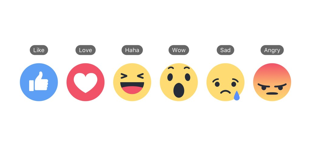 Facebook Reactions + Labels