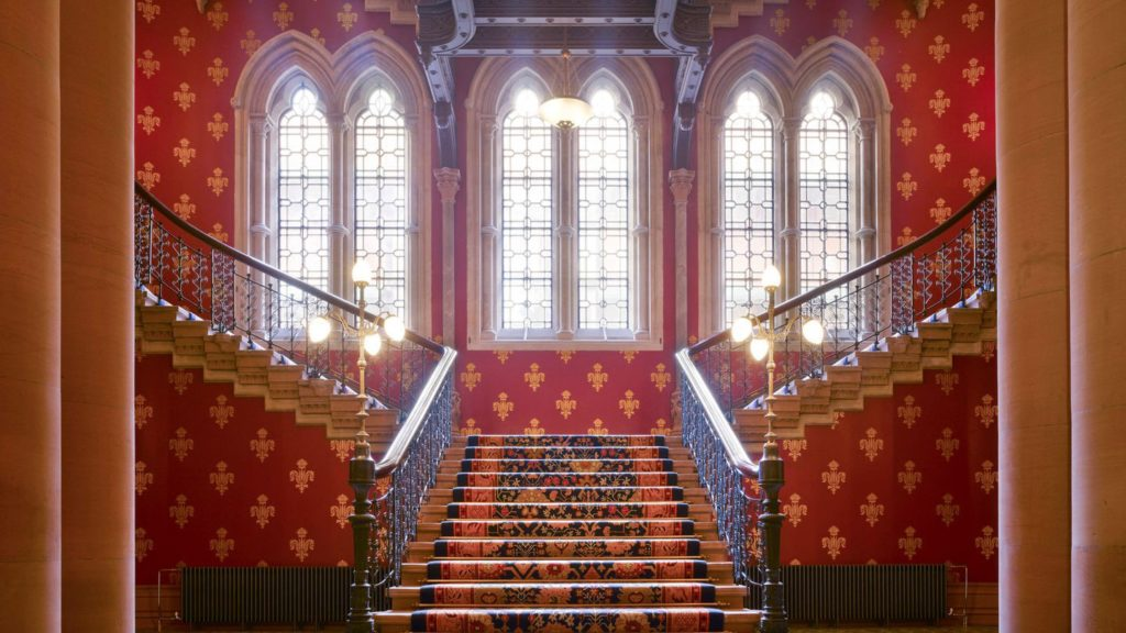 The Grand Staircase_St. Pancras Renaissance Hotel