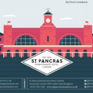 St. Pancras Renaissance Hotel London King's Cross Neighborhood Infographic