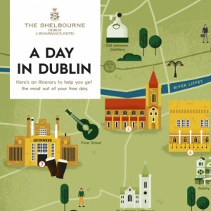 Map of Dublin -  The Shelbourne Dublin, A Renaissance Hotel